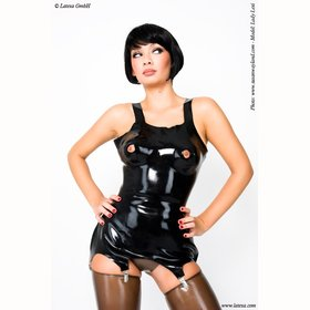 Latex Korsett mit Brustwarzen�ffnung