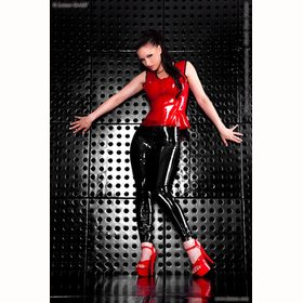 Latex Leggings mit RV
