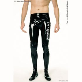 Latex Strumpfhose ohne RV.Transparent