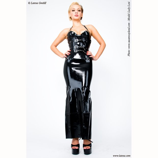 Latex Maxi Roch mit RV